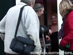 senior couple fucking a youthful willing hooker