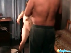 weird russian sex with avid old vet
