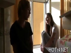 nice group-sex with legal age teenager beauty