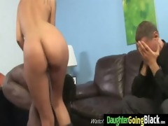 juvenile daughter with worthwhile ass drilled by