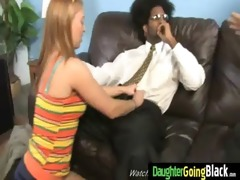 taut youthful teen takes big dark wang 4