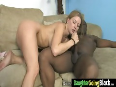 taut youthful teen takes large darksome dick 9