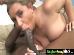 big young booty fucked by a large darksome cock 1