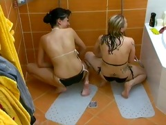 gals masturbating in czech large brother under