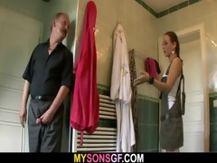 oral-sex exchange with his dad and gf