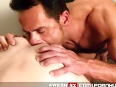 hung daddy bonks young guy