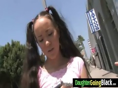 watching my daughter drilled by black schlong 1