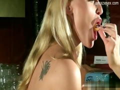 sweet daughter balllicking