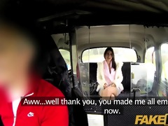 faketaxi sweet dark brown falls for sugar dad