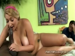 large stacked teen jessi stone takes huge dark