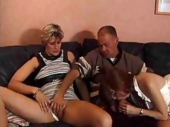 married pair trick younger babe into having a