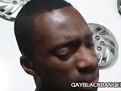 darksome chap hawt boi fucking a tight white gazoo