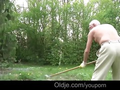 young slut lilu lures and fucks an old fart