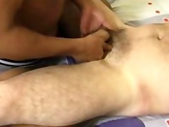 dad mikes cock massage