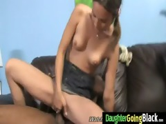 young daughter with good ass fucked by a black