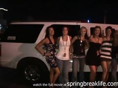 1 hawt gils flashing real amateur limo public