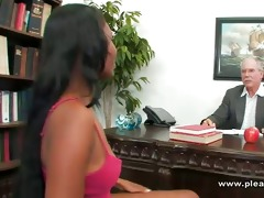 student fucking the old horny dean