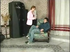 gave a russian mother and her face hole fucked her