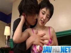 sakura aida is in for a teamy porn show along