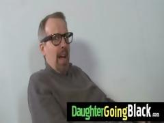 watching my daughter going black 3