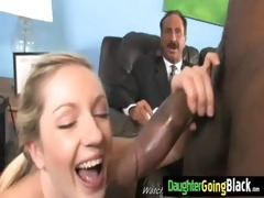 youthful girl makes love with black stud 8
