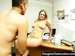 girl teen daughter spread her wet crack