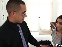 the bosss hawt diminutive daughter fucked by big