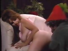 midget santa clous receive hard gift 4 slut