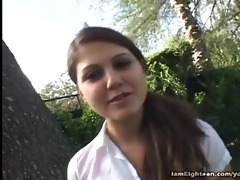 eighteen year old carmella diamond drilled