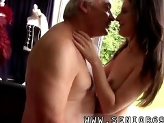 lustful senior bruce catches sight of a nice