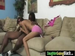 young sexy girl drilled by a dark guy 19