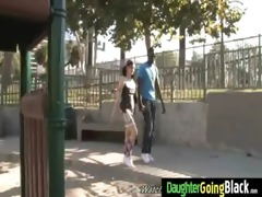 youthful daughter with nice ass fucked by a black