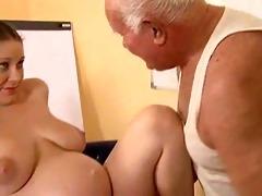 granddad fuck a preggy gal