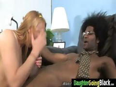 see my daughter going on a monster darksome dick 3