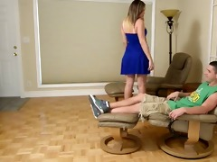 step sister is lascivious and craves not her step