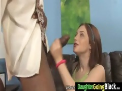 my youthful daughter nailed by nifty black