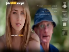 old farmer guy receives fucked by golden-haired