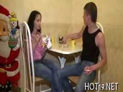 stranger bangs the hotty