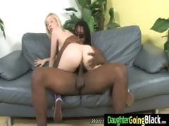 young daughter with nice ass screwed by a dark