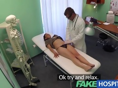 fakehospital student needs a full check up before