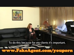 fakeagent concupiscent amateur sucks and