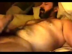 hairy hot daddy shootin that is cum