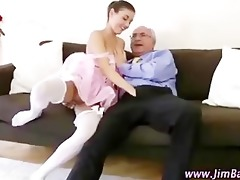 older chap fucking younger girl